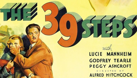 39 steps movie poster and DMCA fair use example